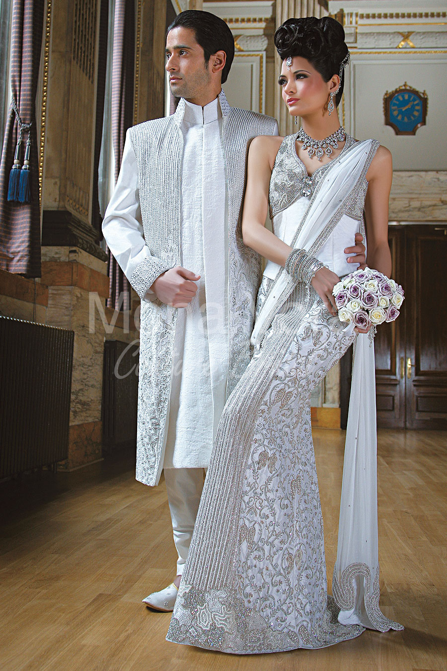 White Wedding Suits for Grooms Online. Asian Grooms White Wedding ...