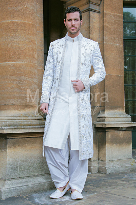 white wedding suits for grooms asian grooms white