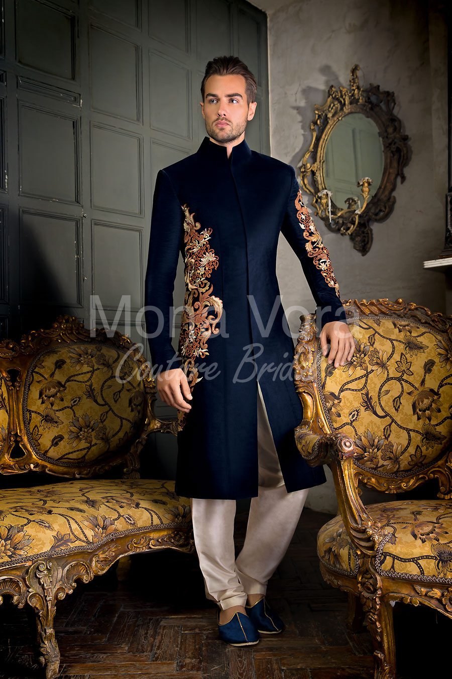 Mens Wedding Suits Online. Asian Grooms Fusion Wear, Indian Grooms ...